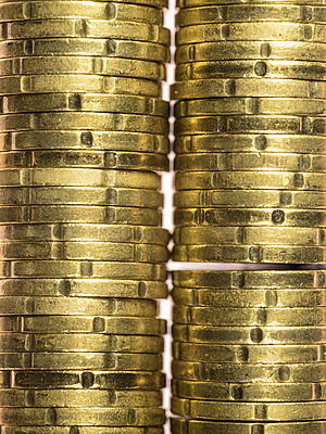 Coins - p401m1222563 by Frank Baquet