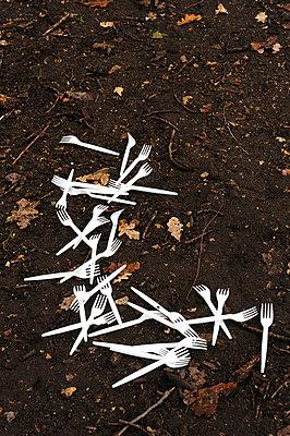 Plastikbesteck - p6010604 von Alain Caste