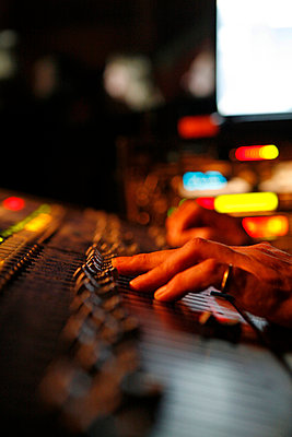 Mixing desk - p0760286 by Tim Hoppe