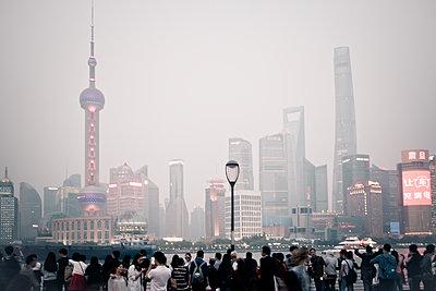 Skyline Shanghai - p795m1161287 by Janklein