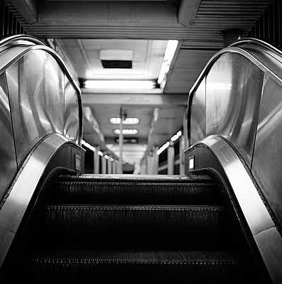 Escalator - p845m800712 by Robert DiScalfani