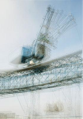 Hafenkran - p1043m1125035 von Ralf Grossek