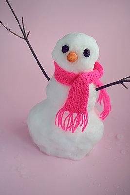 Small snowman  - p450m2054430 by Hanka Steidle