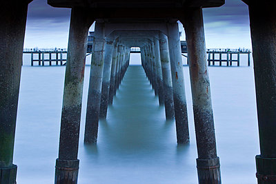 Deal pier, in the coastal resort of Deal - p6521768 by Katie Garrod