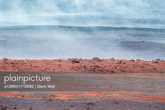 Volcanic Fog - p1280m1112682 by Dave Wall