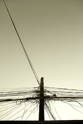 Power lines - p1570m2151107 by DOROTHY-SHOES