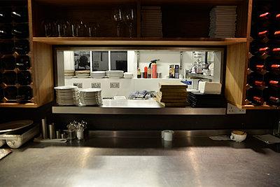 Restaurant Service Window - p694m2200717 by Novo Images