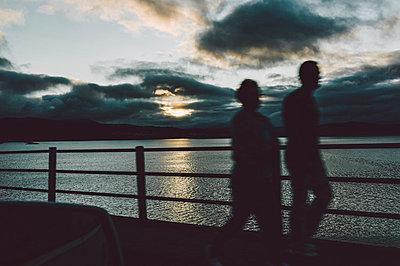 Morgengrauen an den Rias Baixas - p1085m854323 von David Carreno Hansen