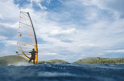 Windsurfen - p0810164 von Alexander Keller
