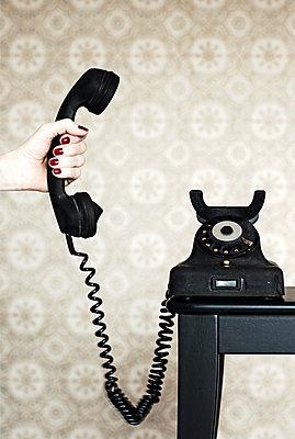 Der Anruf - p1574m2145113 von manuela deigert