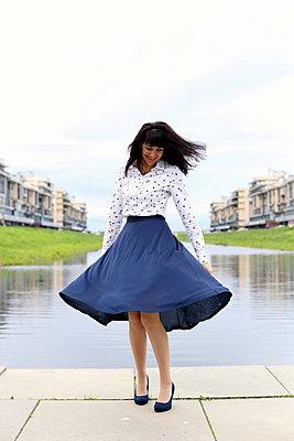 The joy woman  - p1063m1200615 by Ekaterina Vasilyeva