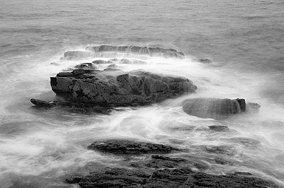 Atlantik bei Langzeitbelichtung VIII - p1079m856424 von Ulrich Mertens