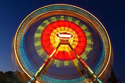Ferris wheel at night - p1596m2204671 by Nikola Spasov