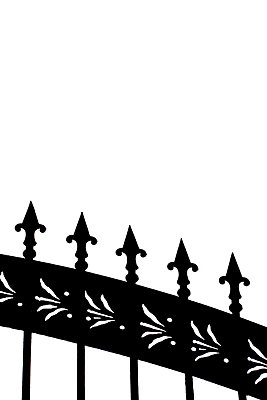 Iron fence - p4500670 by Hanka Steidle