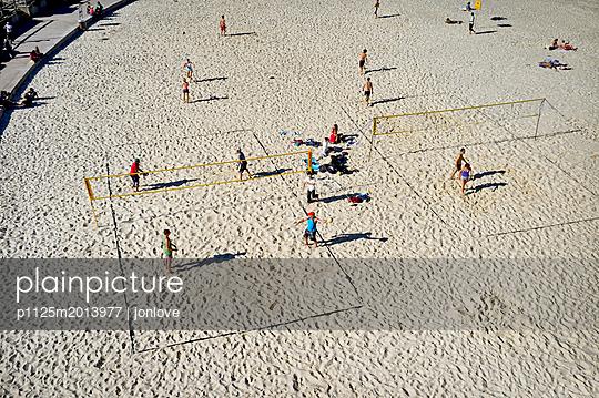 Beach volleyball - p1125m2013977 by jonlove