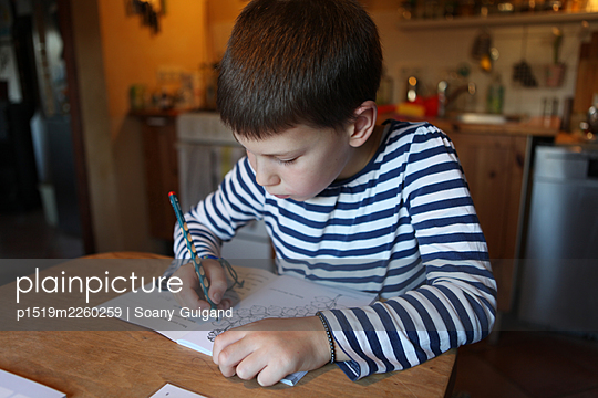 Homeschooling - p1519m2260259 by Soany Guigand