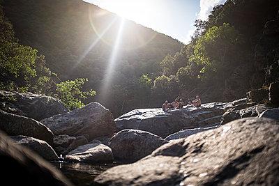 Summer river break - p1007m1134068 by Tilby Vattard
