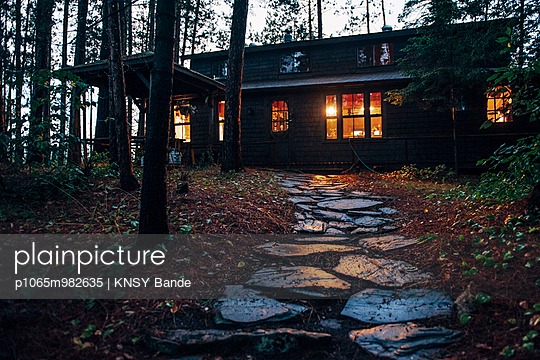 Summer cottage at Chandos Lake - p1065m982635 by KNSY Bande