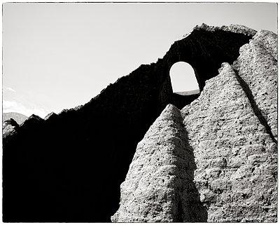 Single window in ruined building - p1154m1110195 by Tom Hogan