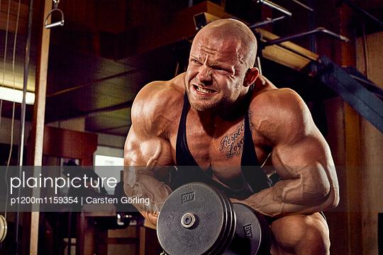 Bodybuilding - p1200m1159354 von Carsten Görling