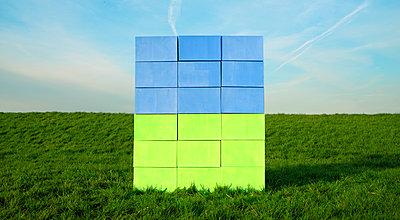 cardboard landscape - p1132m1071982 by Mischa Keijser