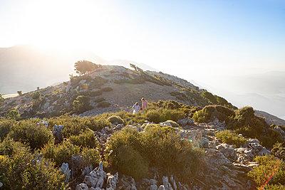 Über die Berge von Kreta - p454m2030947 von Lubitz + Dorner