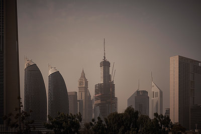 Skyline of Dubai - p851m2077279 by Lohfink