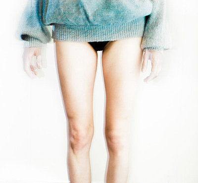 Lower body of a girl - p1635m2237753 by Amanda Witt