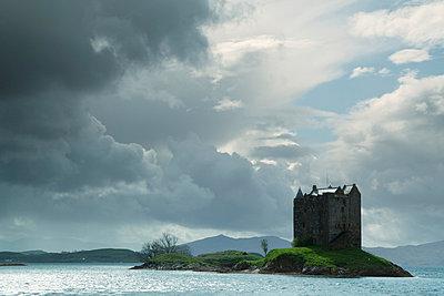 Castle Stalker;  Schottland - p3300310 von Harald Braun
