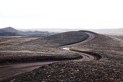 Iceland, Empty street - p1643m2229347 by janice mersiovsky