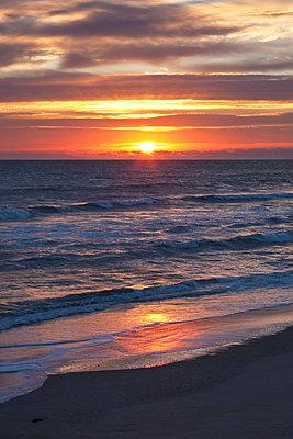Sunrise above Atlantic Ocean - p575m873286 by Sven Halling