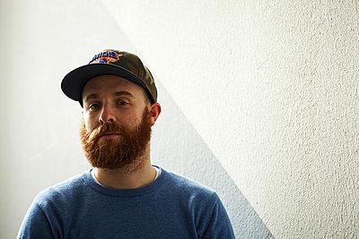 Man with beard - p921m882309 by Boris Leist