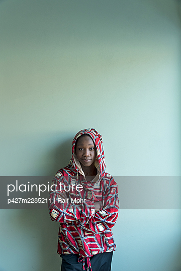 African woman - p427m2285211 by Ralf Mohr