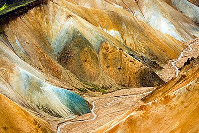 Landmannalaugar, Iceland - p1084m1036824 by GUSK
