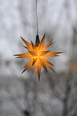 Christmas star - p846m1355338 by exsample