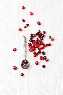 Fresh cranberries - p300m1192320 by Mandy Reschke