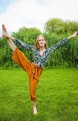 In Balance bleiben - p045m2196089 von Jasmin Sander