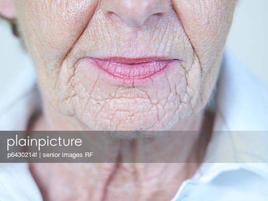 Gesicht einer aelteren Frau  - p6430214f von senior images RF