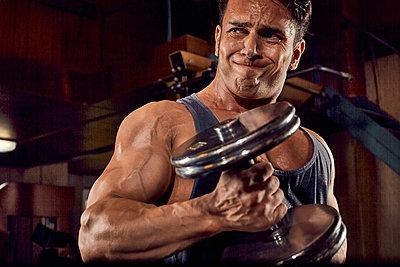 Bodybuilding - p1200m1161367 von Carsten Görling