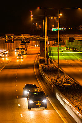 Highways with tunnels - p1418m1572458 by Jan Håkan Dahlström