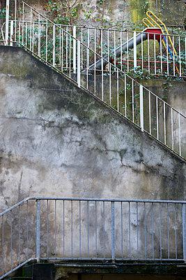 Treppenrutsche - p1164m1111493 von Uwe Schinkel