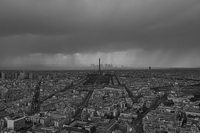 Paris from above - p1399m1442174 by Daniel Hischer