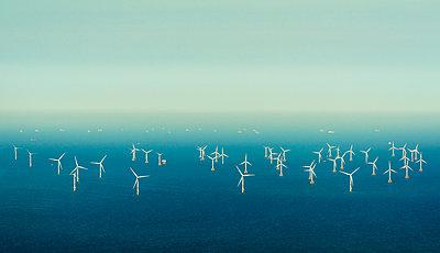 Offshore wind farm - p1132m2126159 by Mischa Keijser