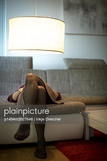 Mittagsschläfchen - p1494m2027646 von Inkje Drescher