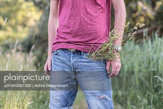 Sommerwiese - p310m2021320 von Astrid Doerenbruch