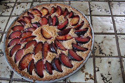 Plum pie - p5780064 by Genie C Balantac