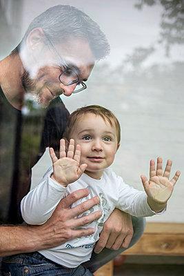 Vater und Sohn - p1156m1585765 von miep