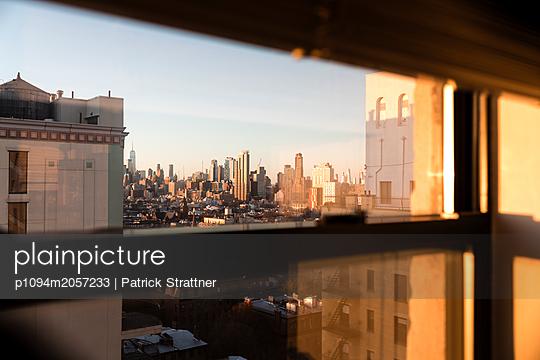 Blick auf New York  - p1094m2057233 von Patrick Strattner