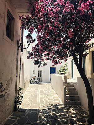 Greek back alley - p1515m2093195 by Daniel K.B. Schmidt
