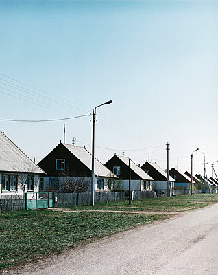 Row of houses - p4092160 by David Maupile